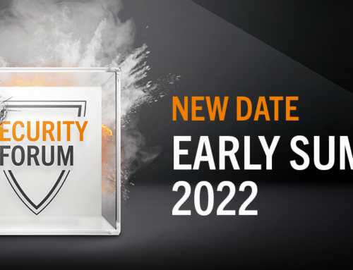 2021 // POSTPONED – SECURITY FORUM – NEW DATE WILL FOLLOW